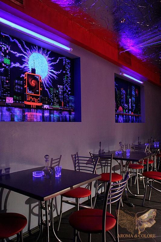 стены ночного клуба